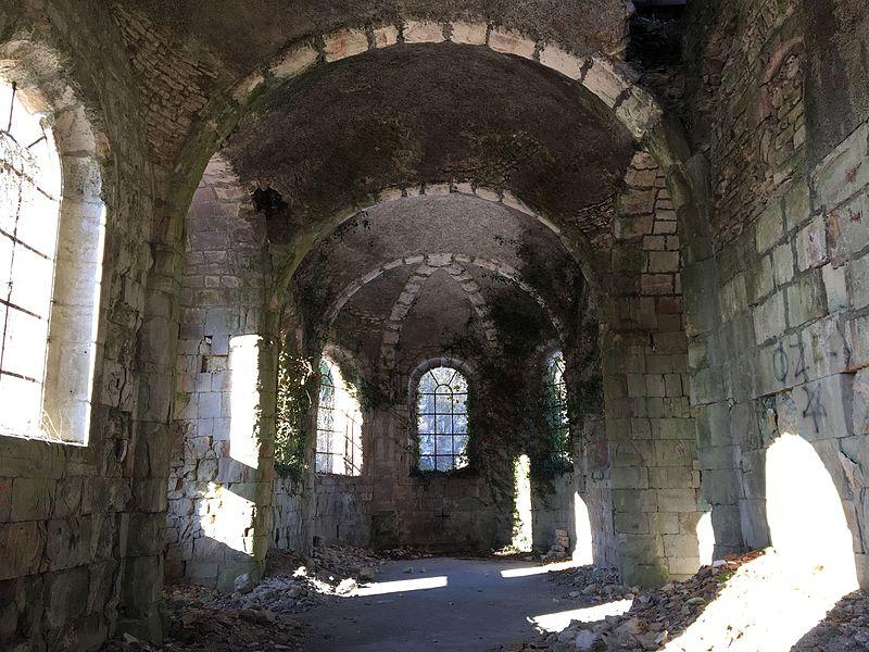 Intérieur de l'Eglise de l'Abbaye
