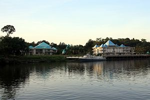 Abdul Taib Mahmud - Taib Mahmud's private residence by the Sarawak River.