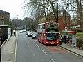 Aberdeen Park bus stop, Highbury Grove - geograph.org.uk - 2250568.jpg