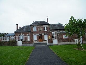 Ablaincourt-Pressoir - The town hall of Ablaincourt