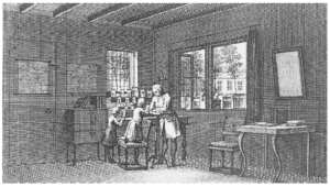 Abraham Trembley - Image: Abraham Trembley's laboratory