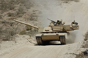 Fort Bliss - Image: Abrams Tank at the Dona Anna Range