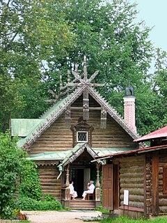 Abramtsevo Colony museum in Russia