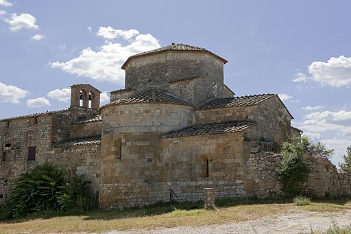Abside abbazia di Santa Maria Assunta a Conèo