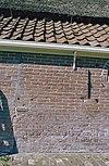 achtergevel, voegwerk, detail - twisk - 20350857 - rce