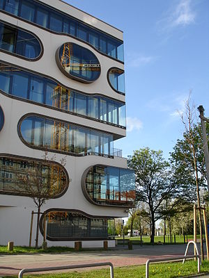 Jürgen Mayer - Office building ADA1 in Hamburg, Germany.