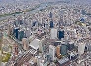 Aerial photo of Umeda 14-Aug-2019