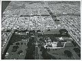 Aerial view of Invercargill, showing Queens Park, 1966.jpg