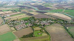 Little Thetford - Image: Aerial view of Little Thetford