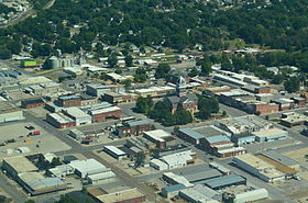 Aerial view of Marshall, Missouri 9-2-2013.JPG