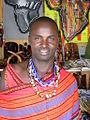 African Man in Dress.JPG