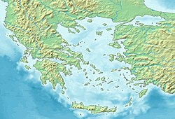 Corinthian War is located in Aegean Sea