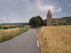 Aguilar de Segarra - Church of Sant Andreu d'Aguilar