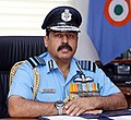 Air Chief Marshal Rakesh Kumar Singh Bhadauria PVSM AVSM VM ADC took over as the 26th Chief of the Air Staff on 30 September 2019.jpg