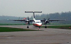 Dash-8-102 C-FCSK der Air Creebec