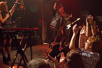 The Airborne Toxic Event - The Airborne Toxic Event at The State Theatre in 2014