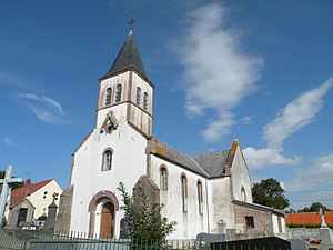 Airon-Notre-Dame - The church of Airon-Notre-Dame