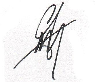AJ McLean - Image: Aj mclean signature