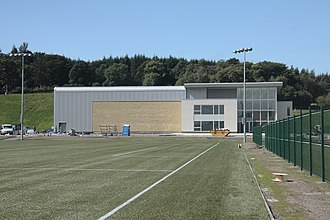Training ground (association football) - Image: Alanmaguirelennoxtow n 14