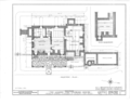 Albert Van Voorhis House, Maple and Franklin Avenues, Wyckoff, Bergen County, NJ HABS NJ,2-WYCK,1- (sheet 5 of 18).png