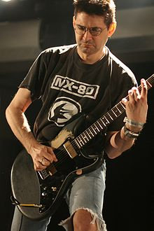Steve Albini was an influence in the math rock genre Albini atp.jpg