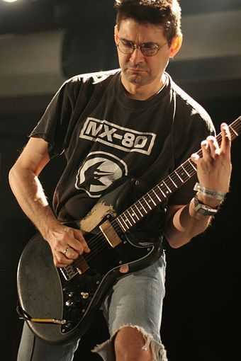Steve Albini performing with Shellac in 2007. Albini atp.jpg