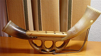 Hornpipe (instrument) - The Basque alboka, a type of hornpipe.