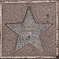 Alec Guinness star at Elstree and Borehamwood station.jpg