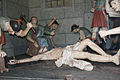 Aleijadinho XI Jesus é pregado na cruz.jpg