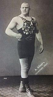 Aleksander Aberg Estonian wrestler