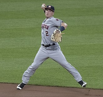 Alex Bregman - Bregman at shortstop in 2017.