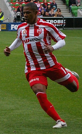 Alex Barboza de Azevedo Terra - Alex playing for Melbourne Heart in 2010