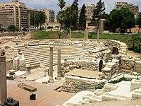 المسرح الروماني.