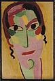 Alexej von Jawlensky Mystischer Kopf Ganz erwacht c1917.jpg