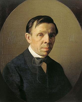 Sergey Zaryanko - Image: Alexey M. Kolosov Portrait of the artist Sergey K. Zaryanko (1874)