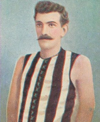Alf Dummett - Dummett during his career with Collingwood