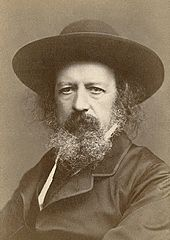 Alfred Lord Tennyson, autographed portrait by Elliott & Fry (cropped).jpg