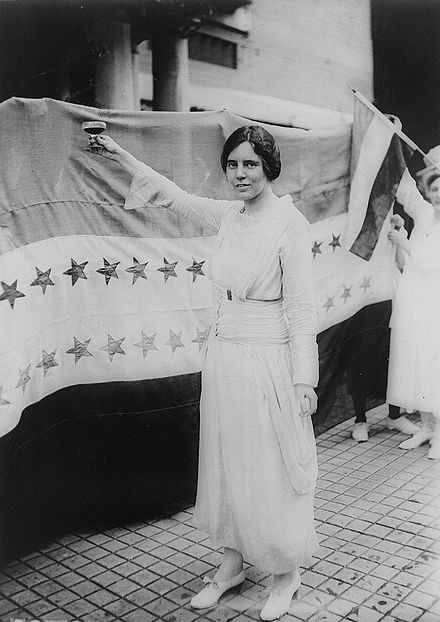 Strategist and activist Alice Paul guided and ran much of the Suffrage movement in the U.S. in the 1910s. Alice paul.jpg