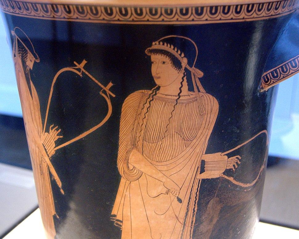 Alkaios Sappho Staatliche Antikensammlungen 2416 n2