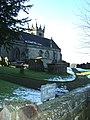 All Saint's Church and churchyard, Sandon - geograph.org.uk - 1159958.jpg