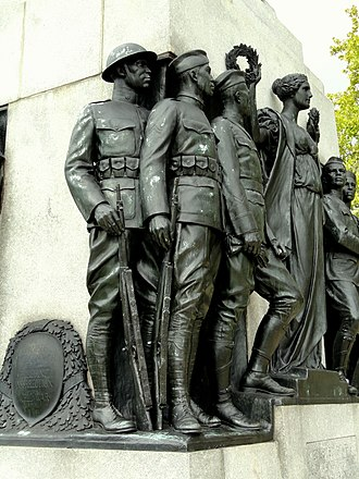 All Wars Memorial to Colored Soldiers and Sailors - Soldiers.