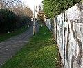 Alleyway to Knighton Lane East - geograph.org.uk - 1187222.jpg