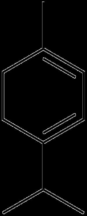 Terpinene - Image: Alpha terpinene