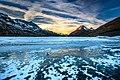 Alps of Switzerland Frozen Lago Bianco (24670126536).jpg