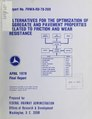 Alternatives for the optimization of aggregate and pavement properties related to friction and wear resistance (IA alternativesforo00dahi).pdf