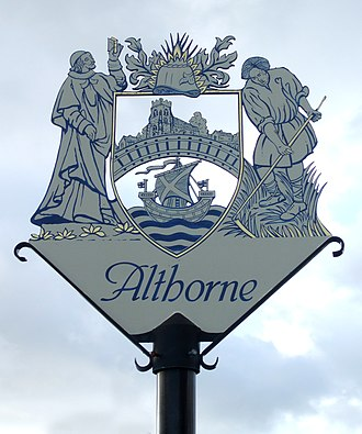 Althorne - Image: Althorne sign sm