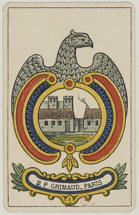 Aluette card deck - Grimaud - 1858-1890 - Ace of Coins.jpg