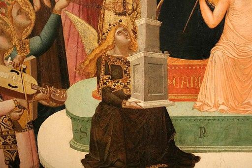 Ambrogio Lorenzetti, Maestà di Massa Marittima (particolare della speranza), 1335 ca., Museo di Arte Sacra, Massa Marittima