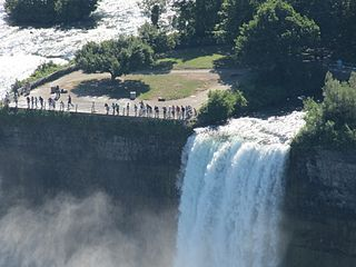 waterfall of the Niagara Falls