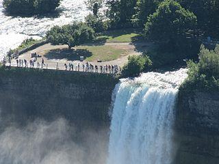 Bridal Veil Falls (Niagara Falls) waterfall of the Niagara Falls